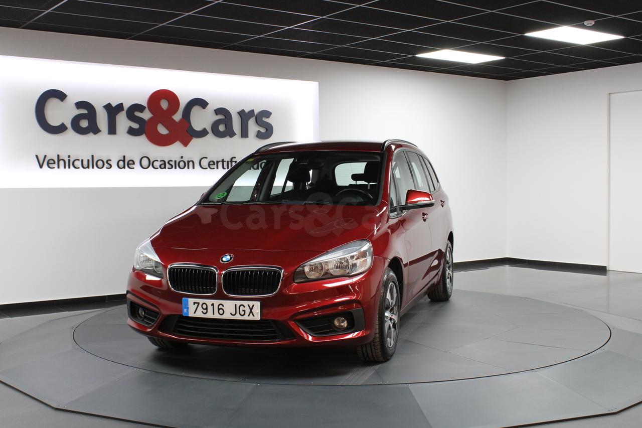 Foto 2 del anuncio BMW 218dA Gran Tourer - E 7916 JGX de segunda mano en Madrid