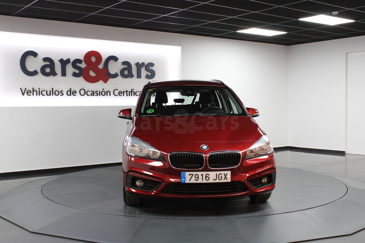 Foto 3 del anuncio BMW 218dA Gran Tourer - E 7916 JGX de segunda mano en Madrid