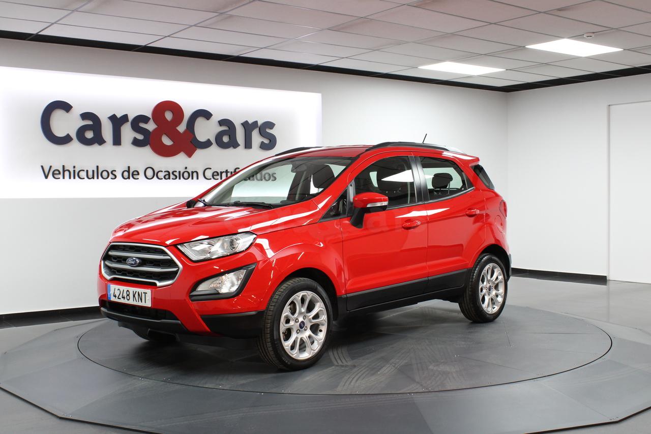Ford Ecosport ocasión segunda mano 2018 Gasolina por 13.995€ en Madrid