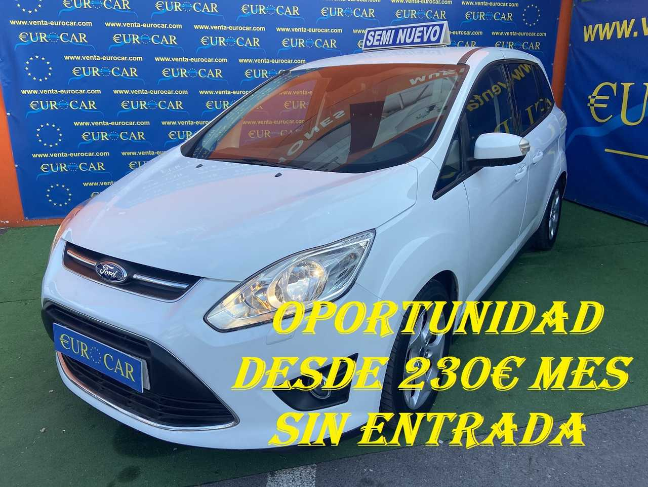 Ford Grand C-MAX ocasión segunda mano 2013 Gasolina por 7.650€ en Alicante