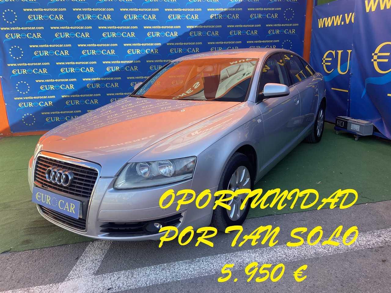 Audi A6 ocasión segunda mano 2005 Diésel por 5.950€ en Alicante