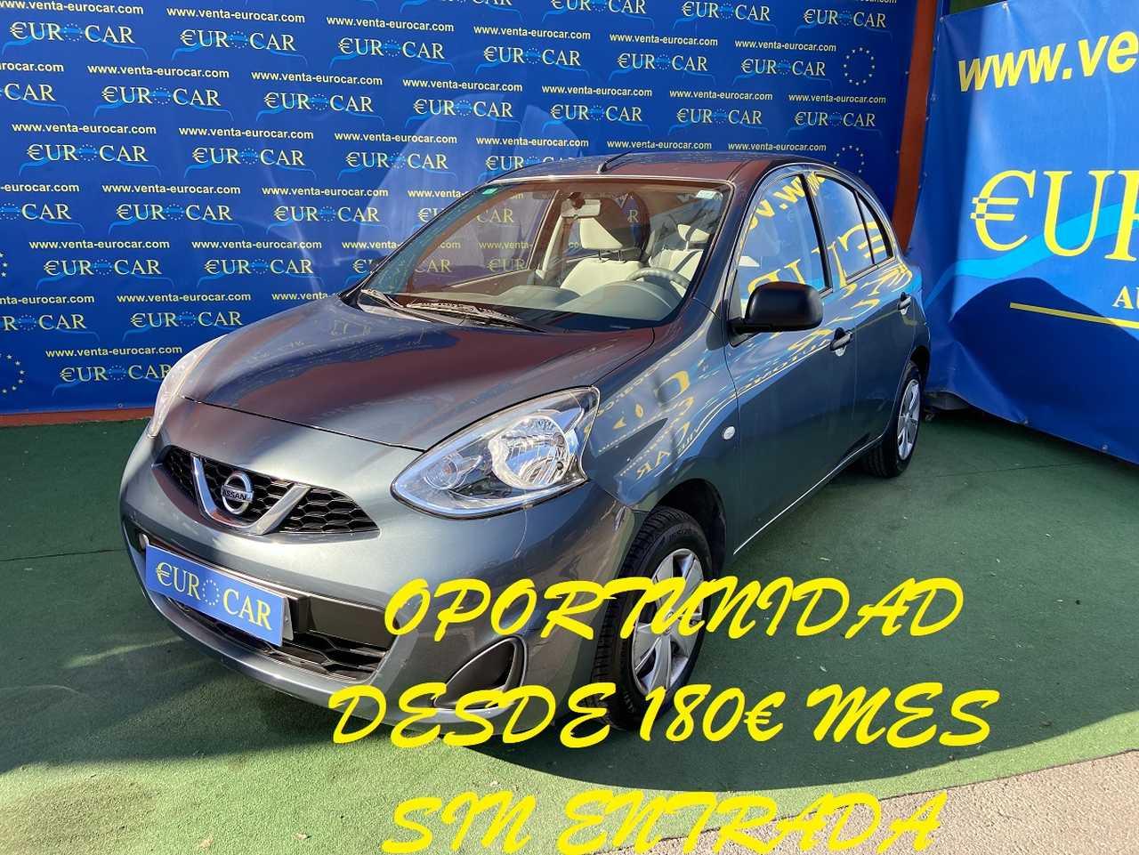 Nissan Micra ocasión segunda mano 2014 Gasolina por 5.950€ en Alicante