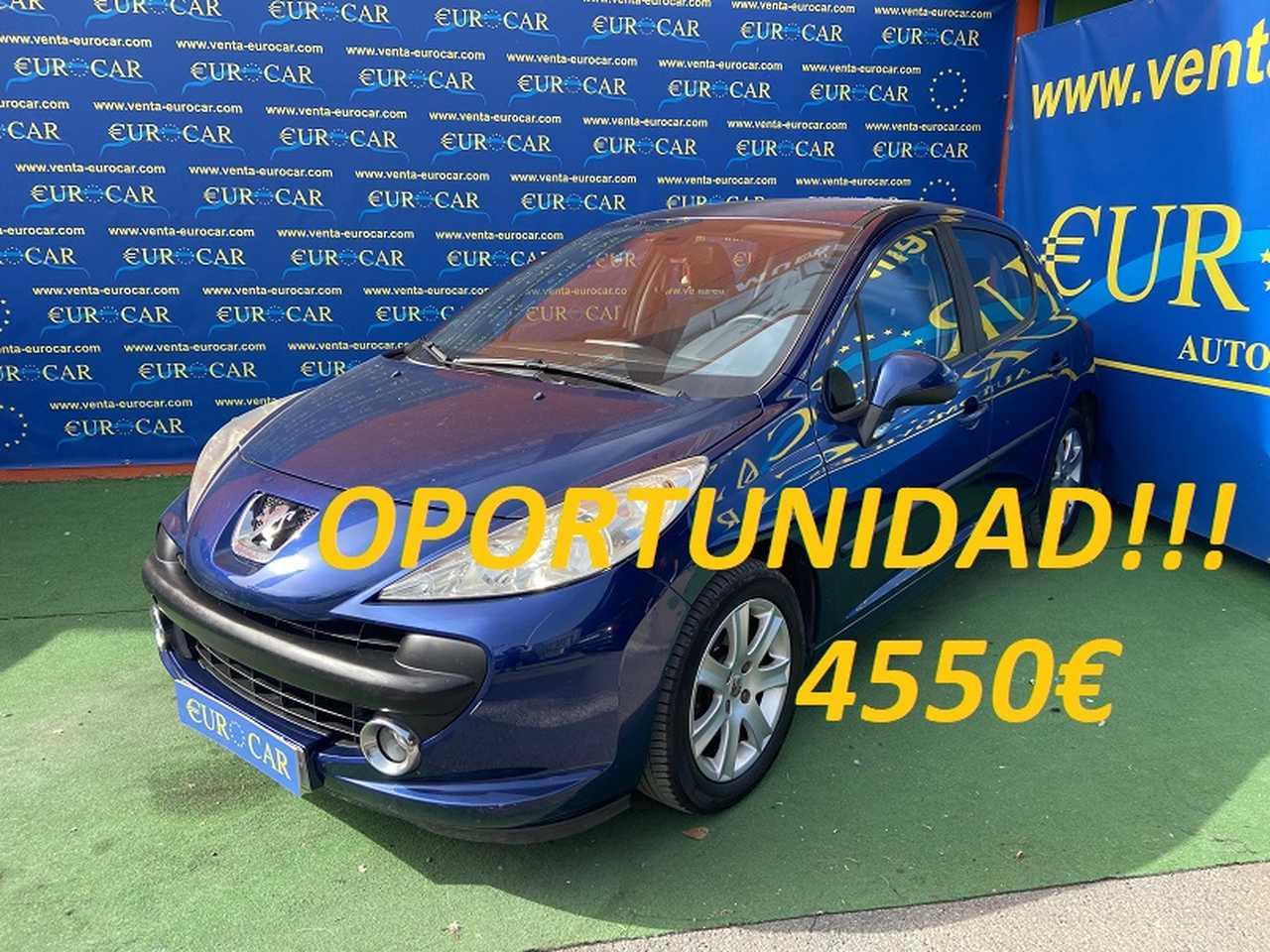 Peugeot 207 ocasión segunda mano 2007 Gasolina por 4.550€ en Alicante