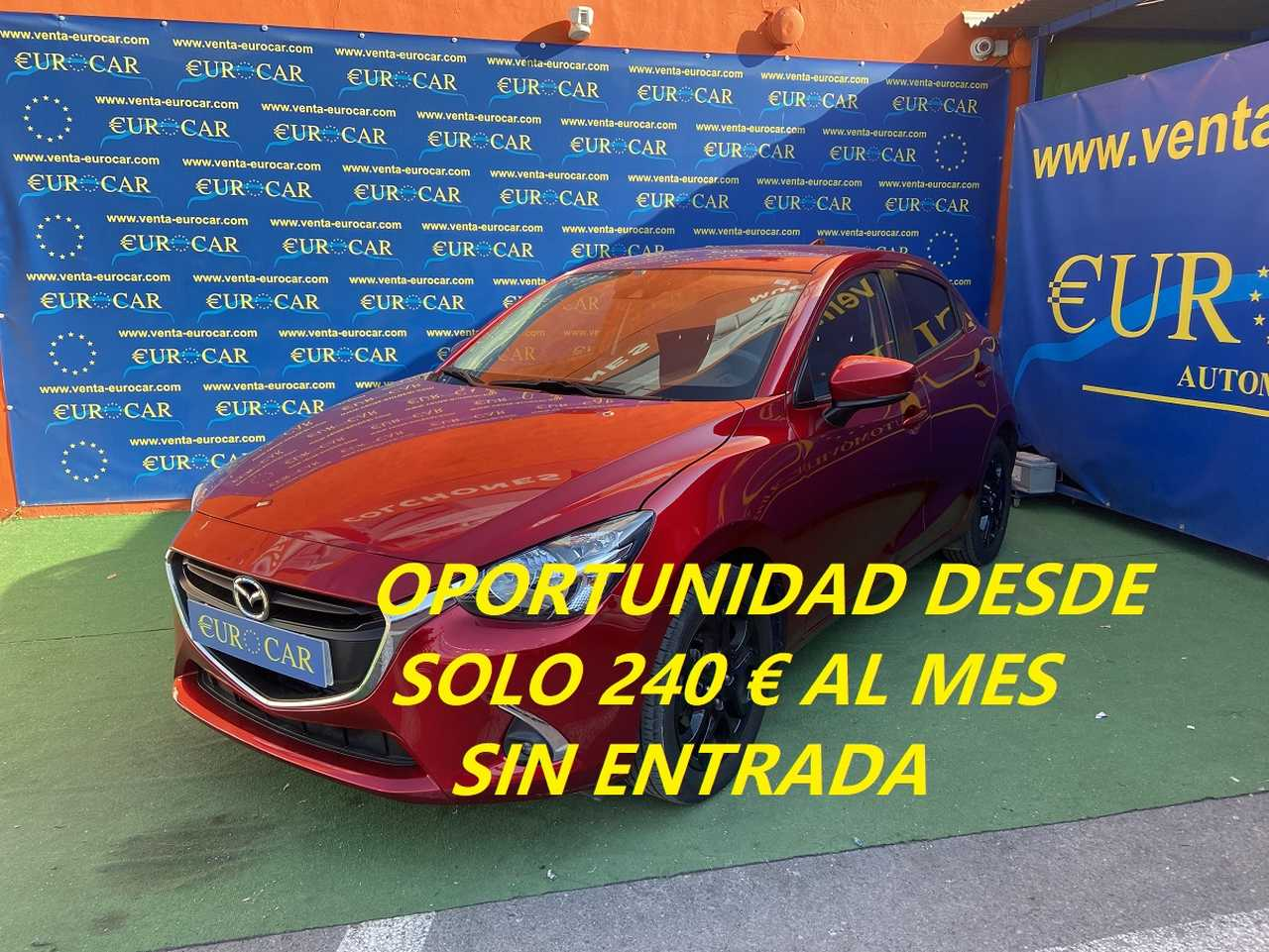 Mazda 2 ocasión segunda mano 2019 Gasolina por 13.650€ en Alicante