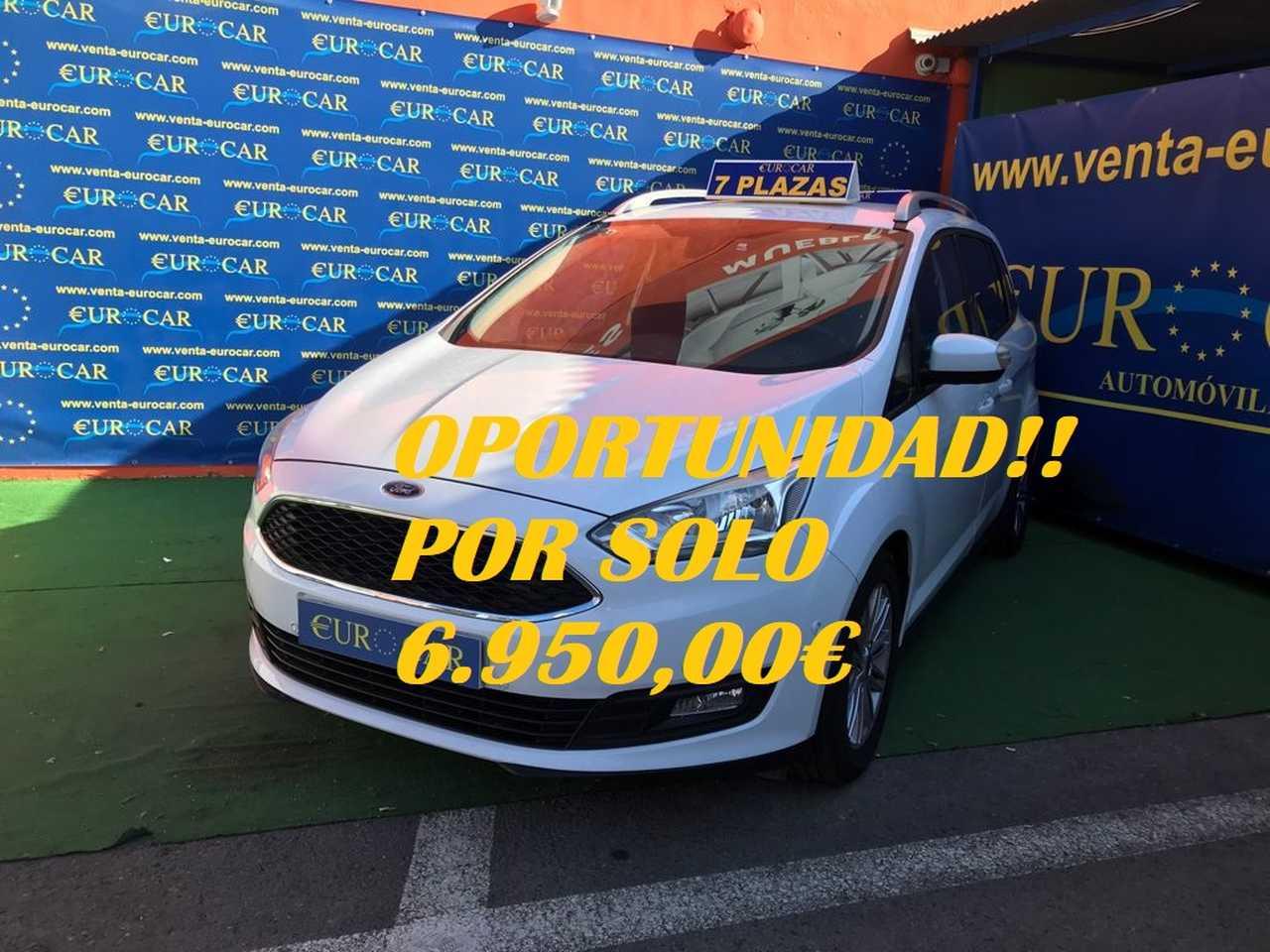 Ford Grand C-MAX ocasión segunda mano 2015 Diésel por 6.950€ en Alicante