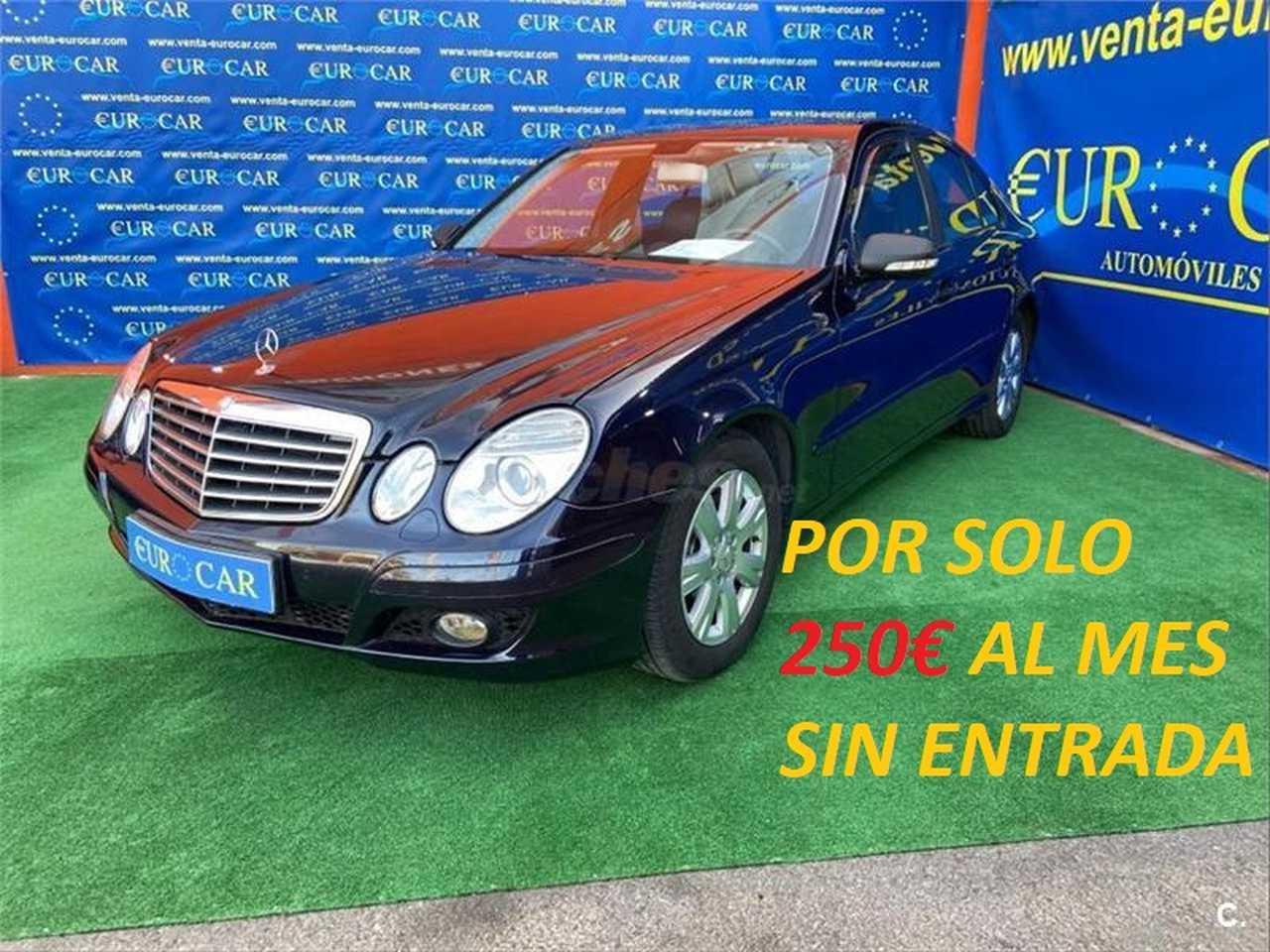 Mercedes Benz Clase E ocasión segunda mano 2008 Diésel por 7.650€ en Alicante