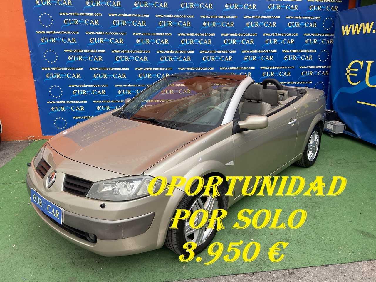 Renault Megane ocasión segunda mano 2005 Diésel por 3.950€ en Alicante