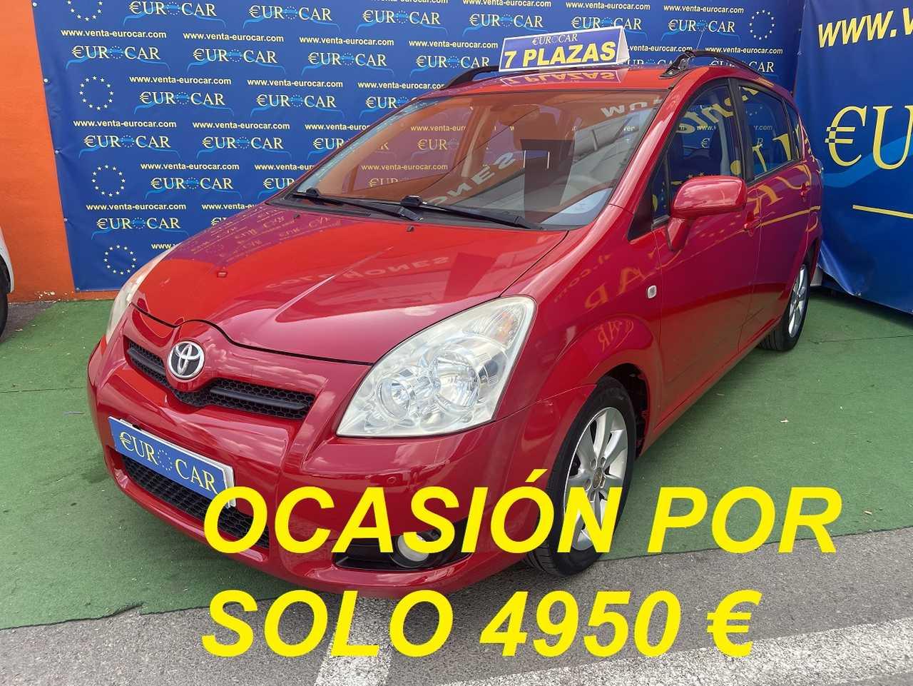 Toyota Corolla Verso ocasión segunda mano 2008 Diésel por 4.950€ en Alicante