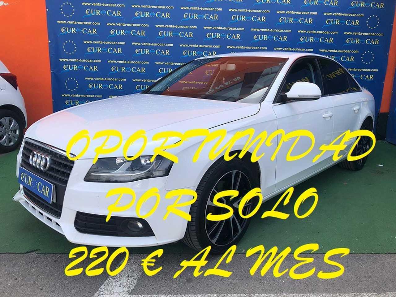Audi A4 ocasión segunda mano 2008 Diésel por 8.650€ en Alicante