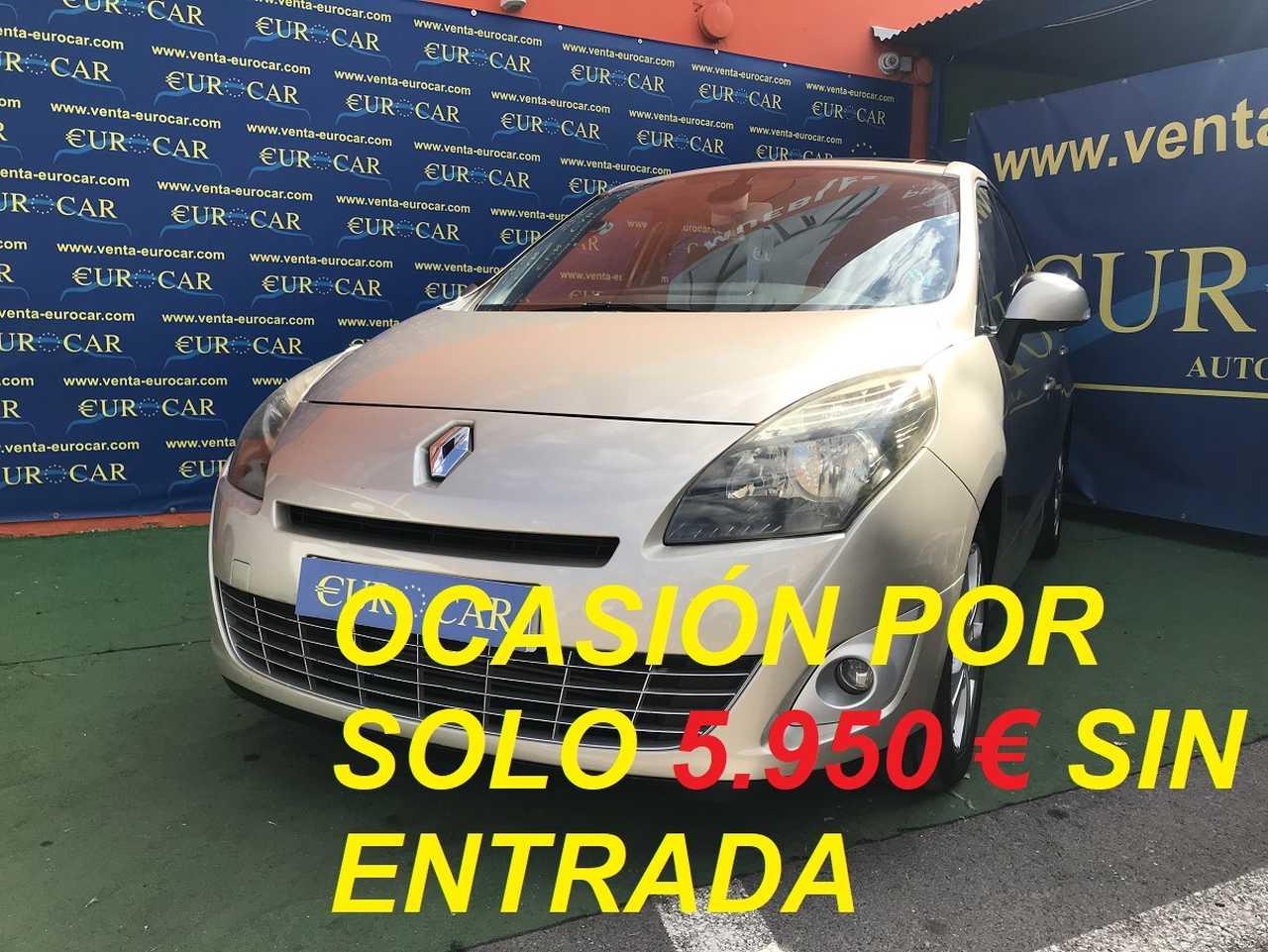 Renault Grand Scénic ocasión segunda mano 2009 Diésel por 6.650€ en Alicante