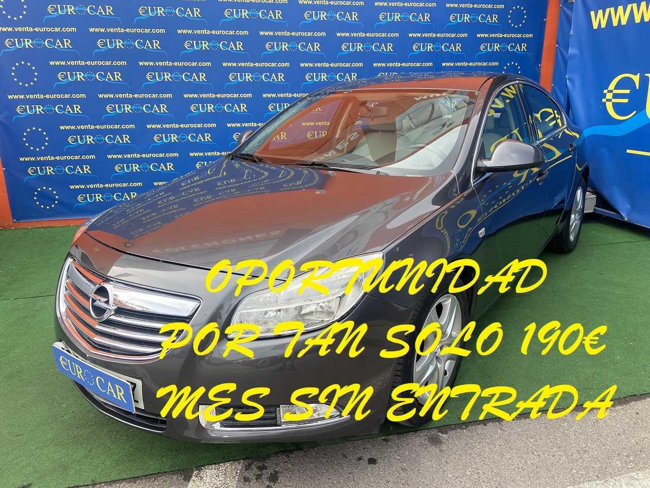 Opel Insignia  ocasión segunda mano 2009 Diésel por 5.950€ en Alicante