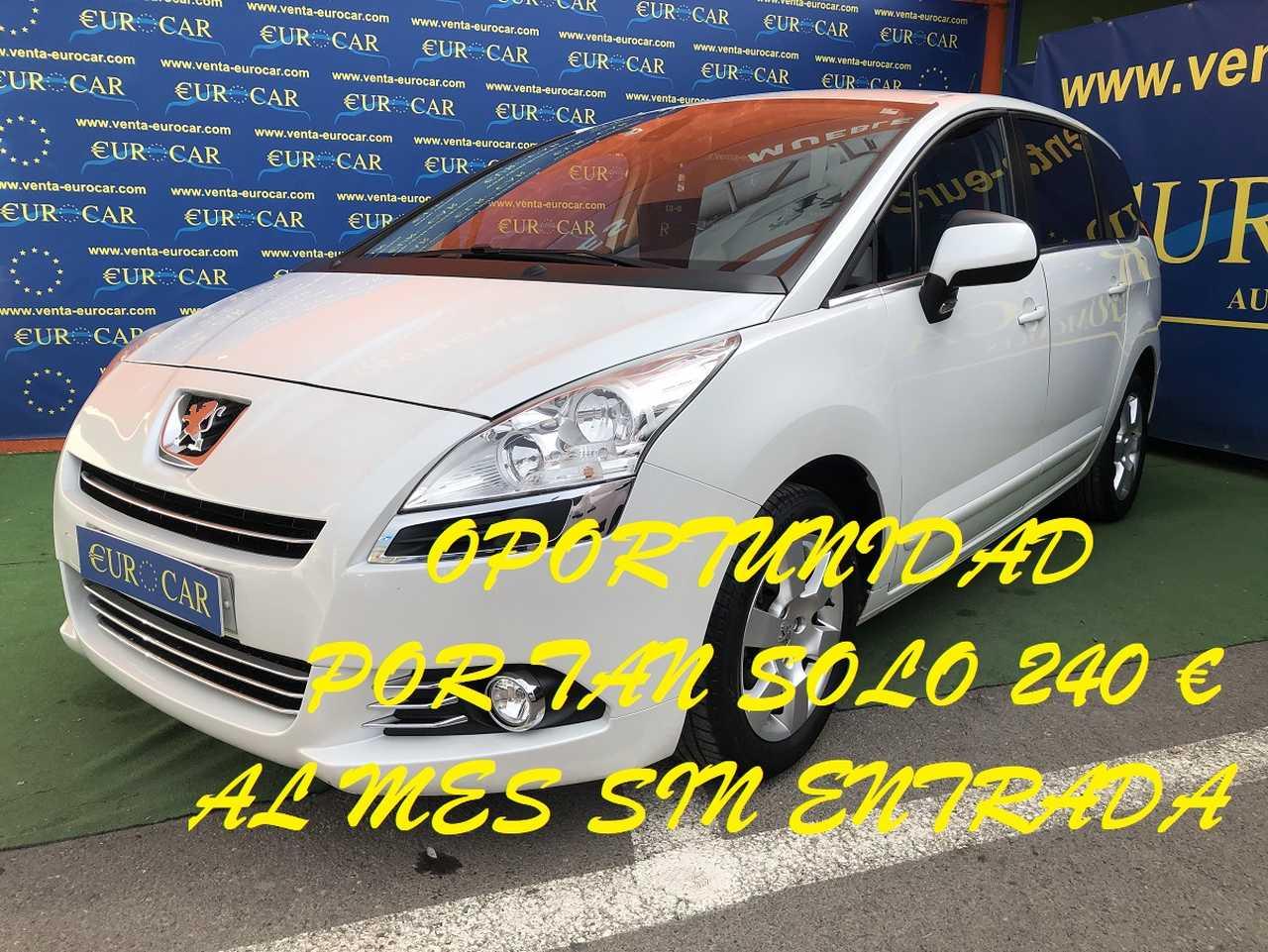 Peugeot 5008 ocasión segunda mano 2011 Diésel por 9.950€ en Alicante