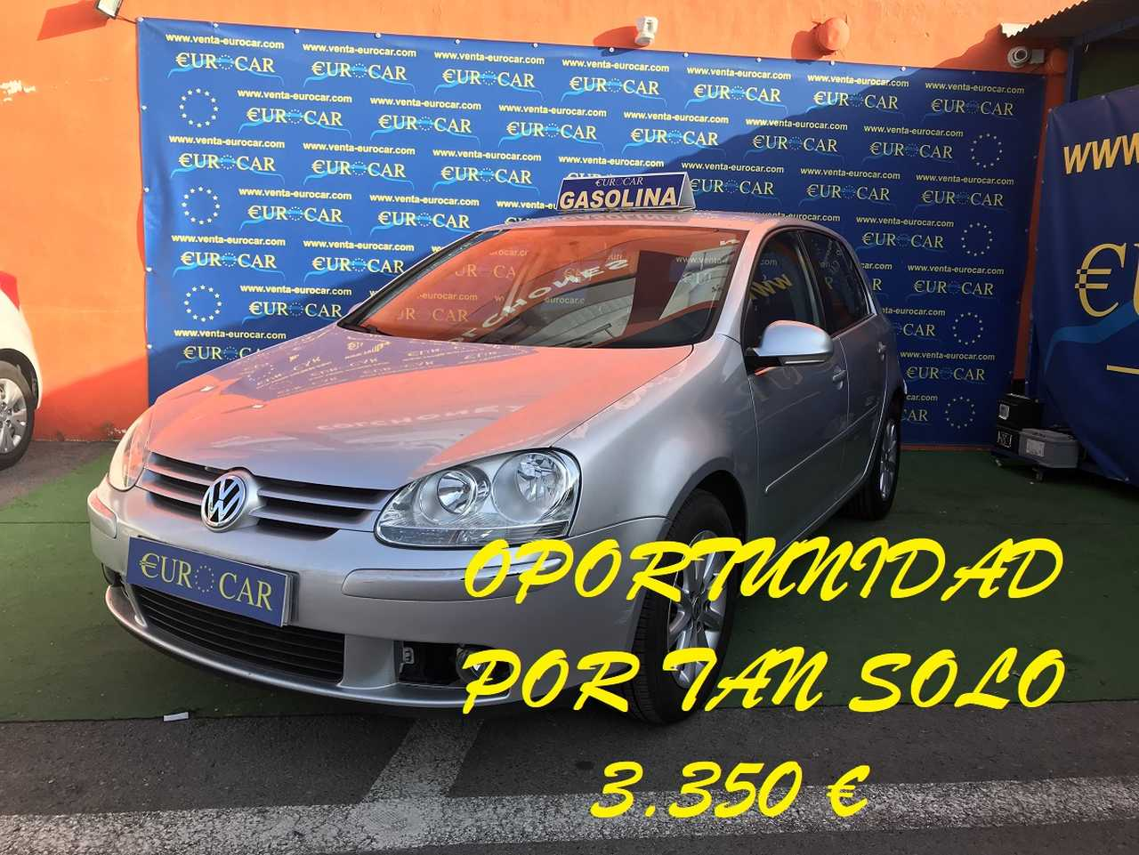 Volkswagen Golf ocasión segunda mano 2007 Gasolina por 3.350€ en Alicante