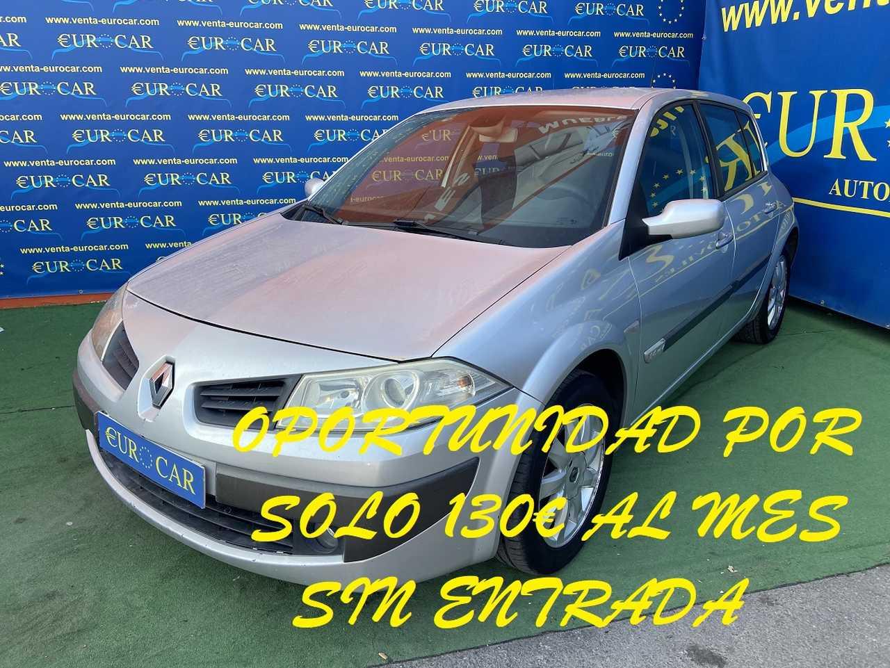 Renault Megane ocasión segunda mano 2006 Gasolina por 2.950€ en Alicante