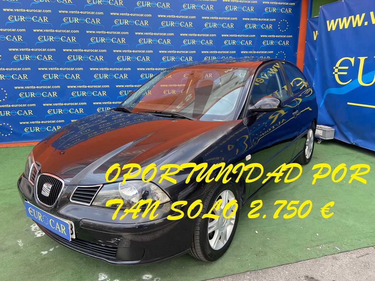 Seat Ibiza ocasión segunda mano 2005 Gasolina por 2.750€ en Alicante