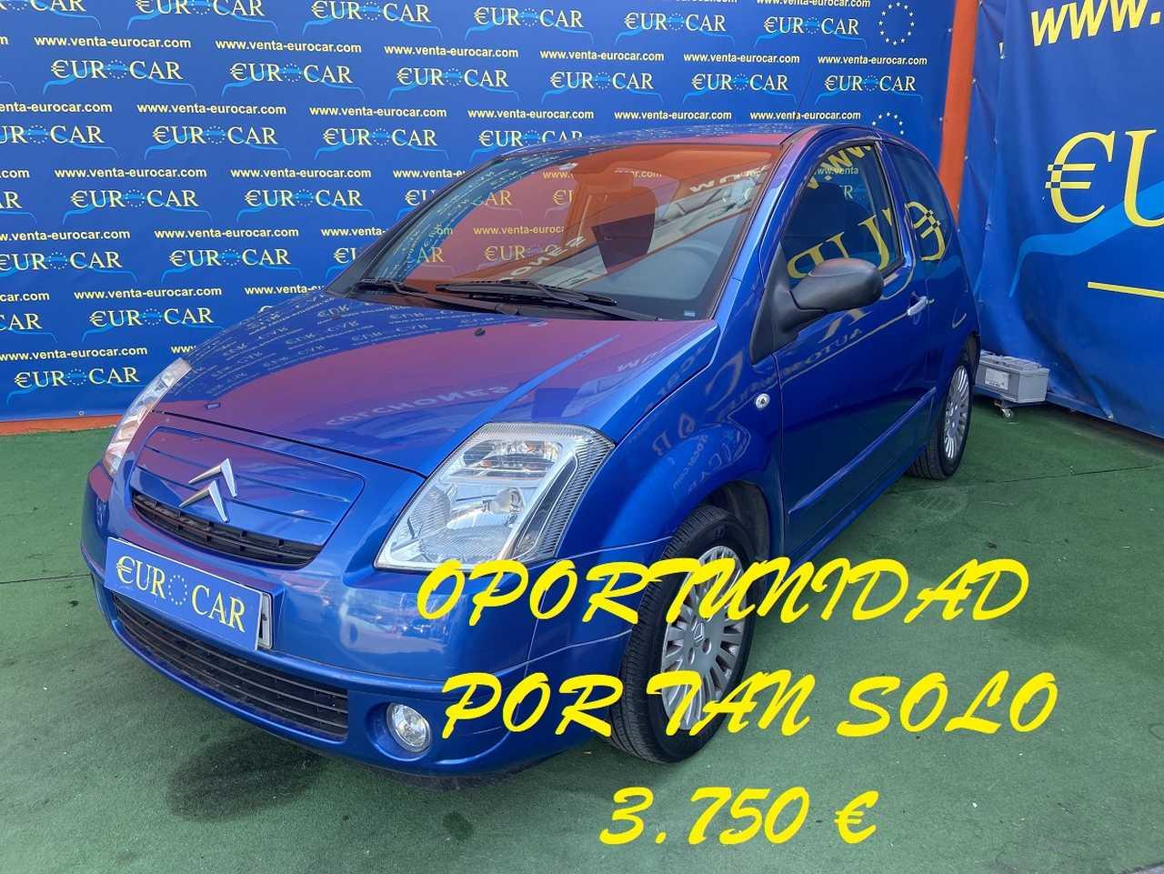 Citroën C2 ocasión segunda mano 2006 Diésel por 3.750€ en Alicante