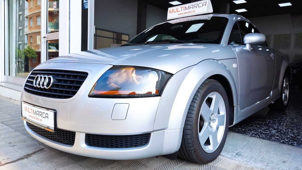 Audi TT ocasión segunda mano 2000 Gasolina por 6.500€ en Girona